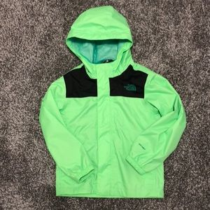 Boys The North Face Raincoat - Size XS